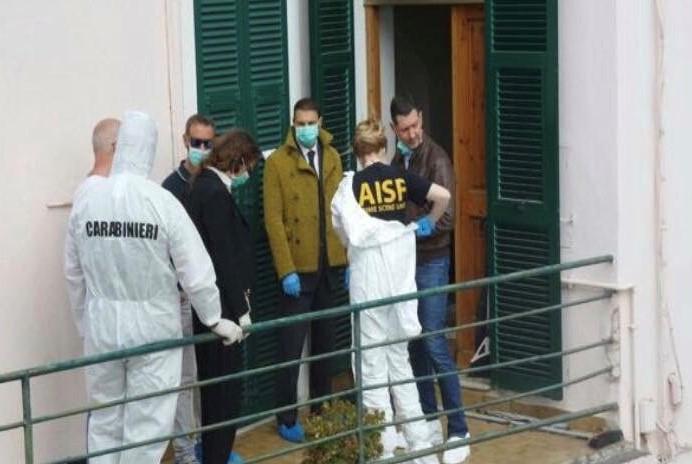 Sopralluogo nella casa dell'omicidio di Janira da parte della Dr.ssa Roberta Bruzzone